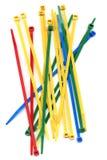 Envoltórios coloridos brilhantes do laço Fotografia de Stock