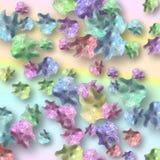 Envoltórios de doces coloridos Fotografia de Stock Royalty Free