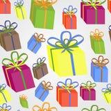 Envoltorio para regalos Fotografía de archivo libre de regalías