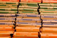 Envoltórios da moeda Imagem de Stock