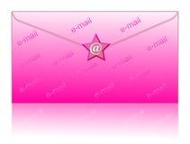 Envolva e envie por correio electrónico o símbolo Fotos de Stock Royalty Free