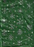 Envolver-Papel Handmade do floco de neve Fotografia de Stock