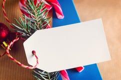 Envolvimento atual do Natal ou do ano novo imagem de stock