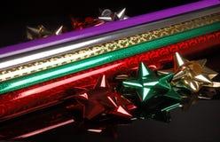 Envolvimento e curvas do Natal Foto de Stock