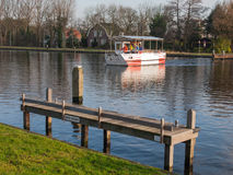 Envoronmentaly friendly ferry boat Stock Photography