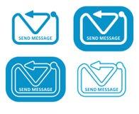 Envoyez le message Photographie stock libre de droits