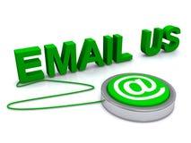Envoyez-nous un e-mail illustration libre de droits