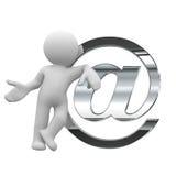 Envoyez un courrier Image libre de droits
