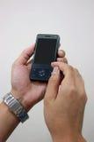 Envoyez un message avec texte image stock