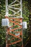 Envoyez une radio de signal Images stock