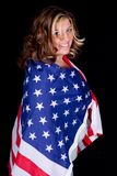 Envuelto en América Foto de archivo libre de regalías