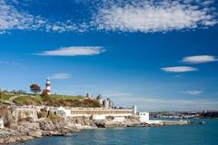 A enxada Plymouth Devon Imagem de Stock
