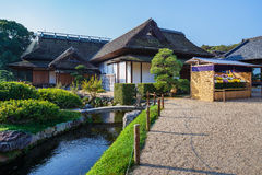 Enyo-tei House at Korakue-en garden in Okayama Royalty Free Stock Image