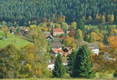 Enzkloesterle,黑森林,德国 免版税图库摄影