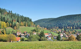 Enzkloesterle,Black Forest,Germany Royalty Free Stock Images
