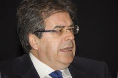 Enzo bianco talking mayor Stock Photos