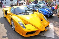 Enzo Ferrari Stock Photography