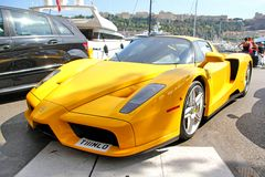 Enzo Ferrari Royalty Free Stock Photo