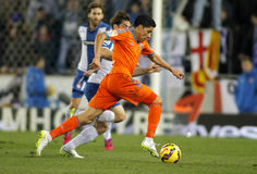 Enzo Perez of Valencia CF Stock Photography