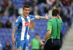 Enzo Roco RCD Espanyol Στοκ φωτογραφίες με δικαίωμα ελεύθερης χρήσης