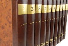 Enzyklopädie Lizenzfreies Stockfoto