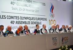 EOC 40. Generalversammlung Lizenzfreie Stockbilder