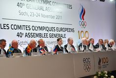 The EOC 40th General Assembly Royalty Free Stock Images
