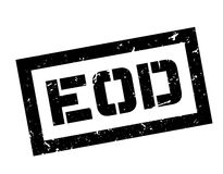EOD rubber stamp Stock Images