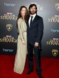 Eoin Macken en Charlotte Atkinson Royalty-vrije Stock Fotografie