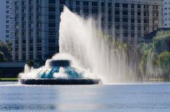 eola喷泉湖水 库存照片