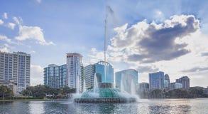 eola fontanny jeziora woda Zdjęcie Royalty Free
