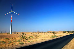Eolian energy Stock Photo