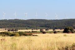 Eolian energy Royalty Free Stock Photos