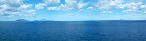 Eolian panorama Royalty Free Stock Image