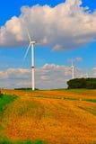 Eolian Turbinen Lizenzfreies Stockbild