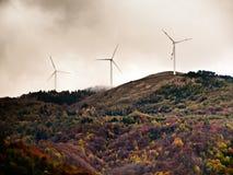 eolic的能源 免版税库存照片