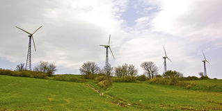 Eolic Energie Lizenzfreie Stockfotos