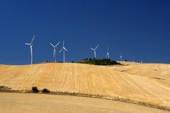 Eolic energy generators Royalty Free Stock Photos