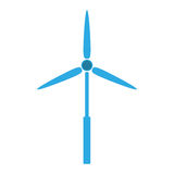 Eolic energy wind Royalty Free Stock Photos