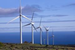 Eolic Generators Stock Photo
