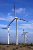 Eolic - turbina di vento Fotografia Stock