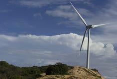 Eolic turbine Stock Photography