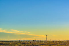 Eolic Turbine, Santa Cruz, Argentina Royalty Free Stock Photo