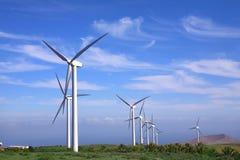 eolic turbinwind Royaltyfri Bild
