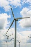 Eolic wind generators Stock Images