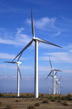 Eolic - wind turbine Stock Photography