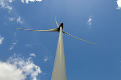 Eolic - wind turbine Stock Photos