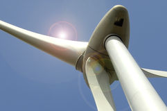 Eolic - wind turbine Stock Photo