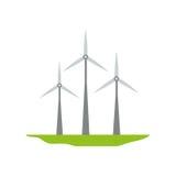 Eolic wind turbine Royalty Free Stock Photography