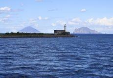 eoliczny wysp Italy salina zdjęcie stock